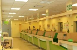 Siklós, Postaépület belsőépítészeti tervezése